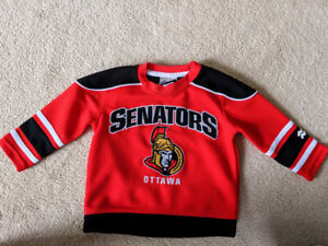 Kids Senators jersey size 2