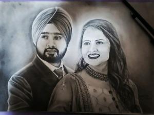 Handmade portraits