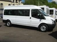 FORD TRANSIT 15 SEAT MINIBUS 140PS 6 SPEED DIGITAL TACHOGRAPH COIF PSV