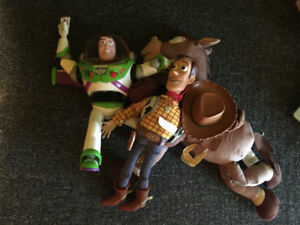 Toy story large stuff figures