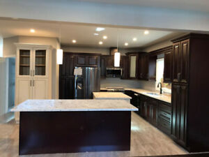 Solid Maple Cabinets 50% OFF^Granite*Quartz Countertops from $45