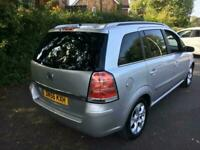 2007 Vauxhall Zafira 1.8i Design 5dr MPV Petrol Manual
