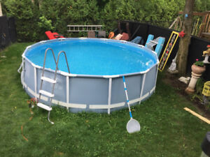 Intex 14 feet x42 in. swimming pool