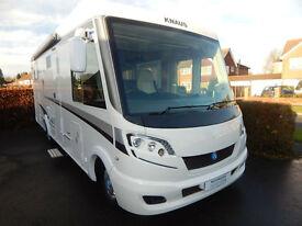 Knaus Sky I 700LEG 2013 Fiat 2.3 150bhp Auto 2 Single Beds Garage 4 Berth