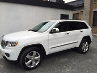 2013 Jeep Grand Cherokee Overland V6 Model - 39,000 km