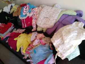 Baby Girl cloths (0-12 months)