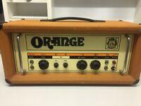Vintage 1975 Orange 120 Amp Head