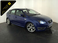 2007 57 FORD FOCUS ST-3 5 DOOR HATCHBACK SERVICE HISTORY FINANCE PX WELCOME