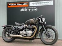 TRIUMPH BOBBER MODERN CLASSIC MOTORCYCLE