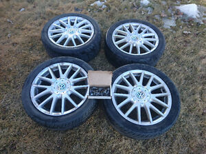 VW Owners! Yokohama tires on rims for sale!