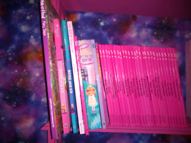 27 vintage 90s grolier barbie books