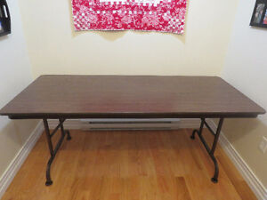 RECTANGULAR FOLDING TABLE - 60 IN. X 30 IN.