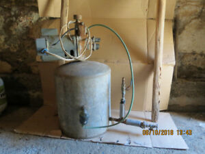 Working 1/2 hp Deep Well Pump & Tank for sale