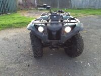 2009 Yamaha Grizzly 450 Swap for crosser YouTube vids