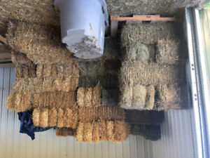 Square straw bales for sale