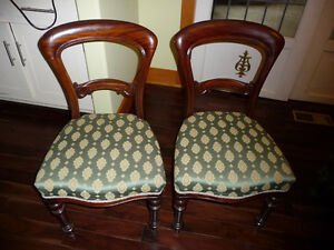 Four balloon chairs - excellent condition