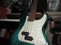 Westfield Fender precision copy bass guitar