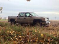 2005 Chevy Silverado safetied