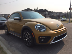 "2016 Volkswagen ""Dune"" Beetle - $375 a month lease"
