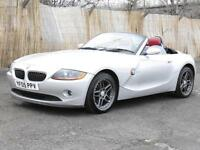 BMW Z4 2.0i 2005 SE Roadster, FSH, Red Leather Seats, 6 Months AA Warranty
