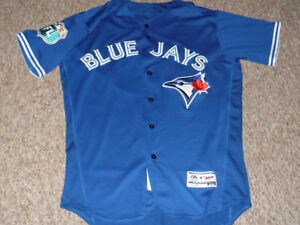 Toronto Blue Jays Game Used Worn 2016 Spring Training Jersey COA