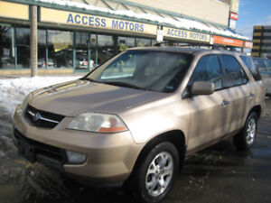 2002 Acura MDX, Looks & Drives Very Good, Only $1780