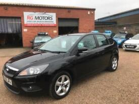 2009(59) Ford Focus 1.6 ( 100ps ) Zetec, Black 5dr Hatch, **ANY PX WELCOME**
