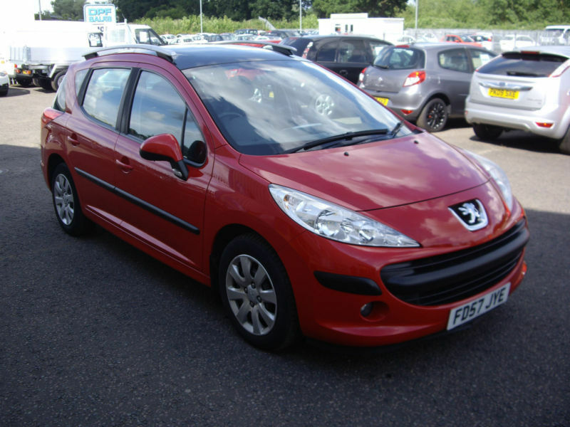 2007 57 peugeot 207 sw 1 6 hdi 90 s diesel estate car in diss norfolk gumtree. Black Bedroom Furniture Sets. Home Design Ideas