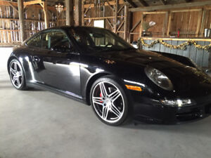 2007 Porsche 911 Carrera 4S Coupe / Sport Chrono Plus/ Bose Soun
