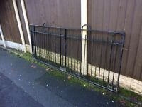 8ft wide galvanised steel sliding gate / security gate heavy duty £50