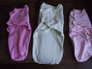 3 Baby Swaddles
