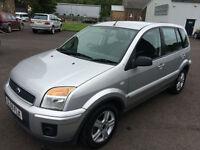 5909 Ford Fusion 1.4 Zetec Silver 5 Door MOT 12m