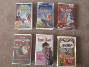 Collection of Disney VHS Movies