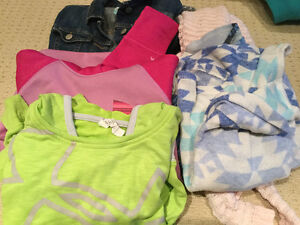Assorted Size 10/12 Girls Brand Name Sweaters and Hoodies