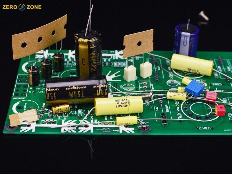 PRT-09A EH 6922 Tube buffer preamplifier base on Musical Fidelity X-10D    L8-18