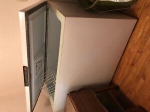 A large freezer