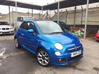 FIAT 500 s CONVERTIBLE 1.2, 2014 **Ltd EDITION**LOVELY CAR**NEW M.O.T**BARGAIN!!