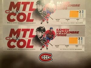 Red Tickets Montreal Canadiens vs Colorado Billet Rouge