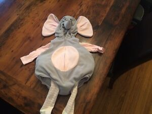 Elephant Halloween costume (3-6 mos)