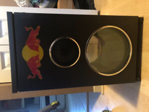 Red bull D.J mini fridge/cooler