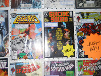 Comic First Appearances