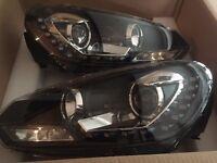 Mk6 VW golf r20 led headlights fits Gtd Gti TDI tsi