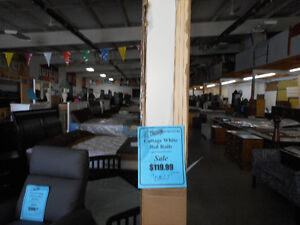 4 piece Crib and Dresser, Mattress and Rails Combo London Ontario image 3