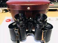 CARL ZEISS JENA DELTRINTEM 8 x 30 large field porroprism binoculars