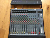 Allen & Heath analogue audio mixer