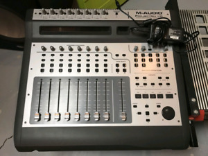 M audio project mix interface