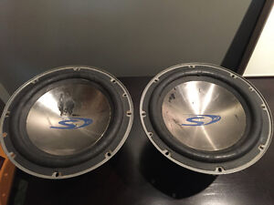 Alpine Type S 10 inch subwoofers (SWS-1022D) $100 OBO