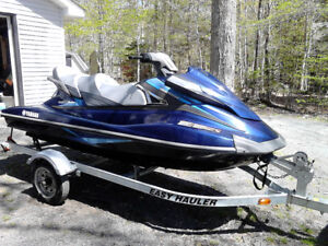 2015 Yamaha Waverunner W/Trailer & Cover - ONLY 50hrs