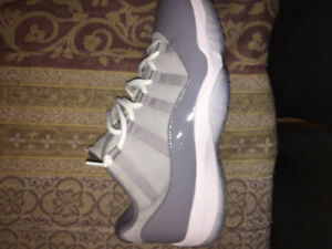 JORDAN 11 LOW COOL GREY - SIZE 13