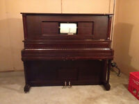 Mason and Risch Player Piano